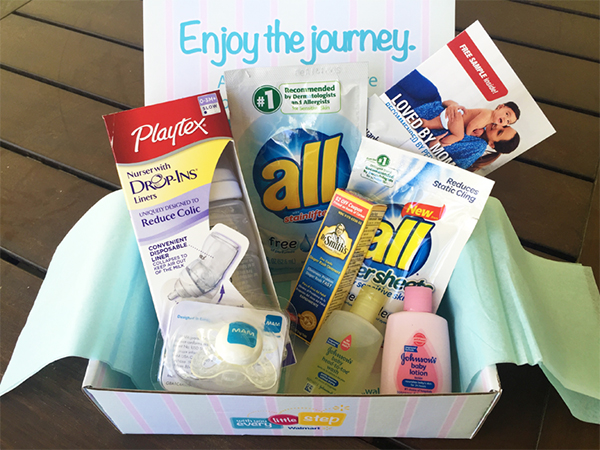 Free Walmart Welcome Baby Box